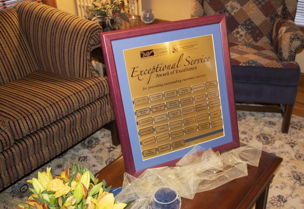 ESA Awards plaque