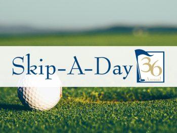 Skip a day 36. Golf ball on grass.