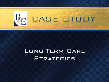 Long-Term Care Strategies