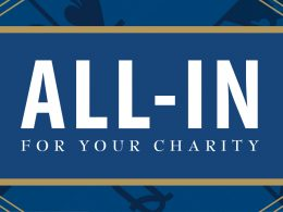 All-in for your charity