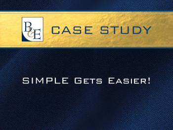 Case Study - SIMPLE Gets Easier!